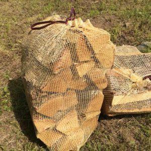 Дрова березовые камерной сушки в сетке, 40 л.