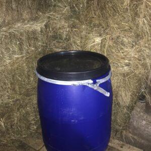 Бочка (евробарабан) Open Top Drums 227 литров с крышкой